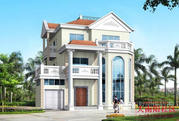 农村建房通用图集 自己在家建吧 独栋别墅户型③ 买房子